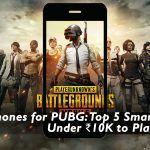 Smartphones for PUBG