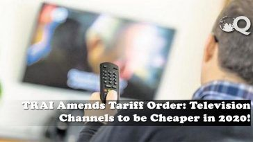 TRAI Amends Tariff Order
