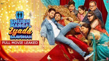 Shubh Mangal Zyada Saavdhan (2020) Full Movie Download Tamilrockers