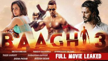 Baaghi 3 Full Movie Download Leaked Filmywap