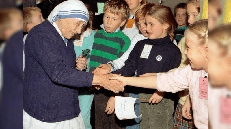 Mother Teresa rescued 37 children