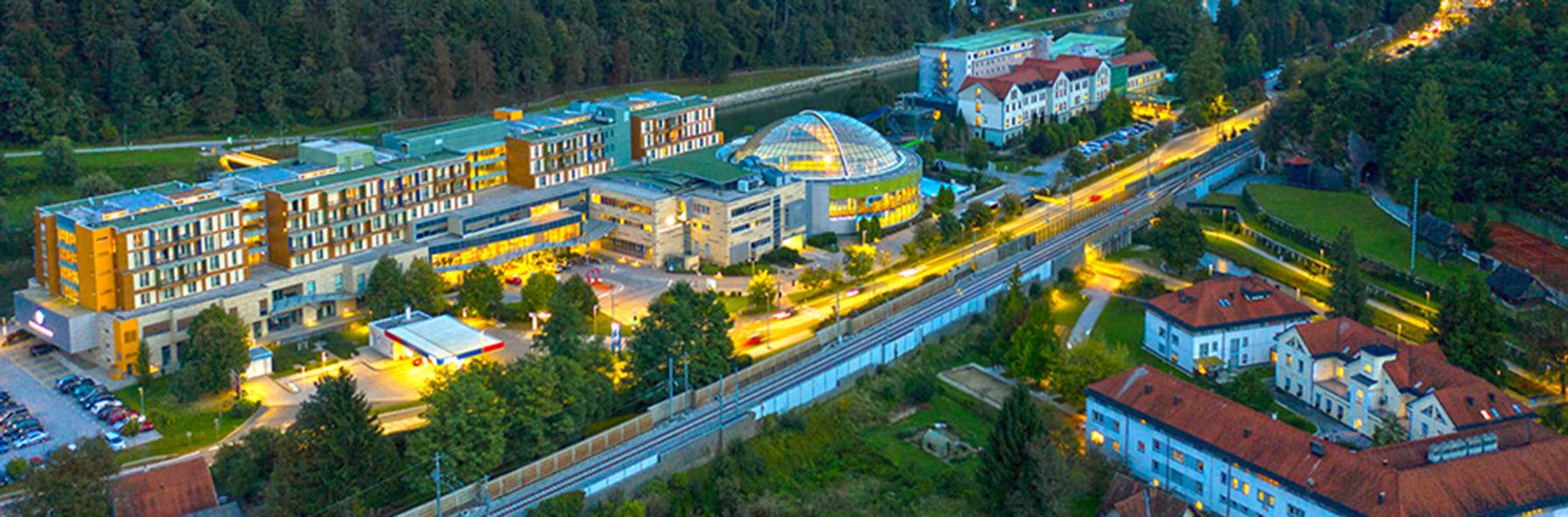Termály Slovinsko, relax ve spojení s přírodou