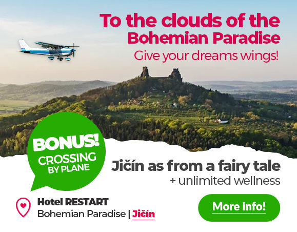 To the clouds of the Bohemian Paradise