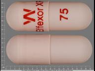 cápsula de 150 mg de Effexor XR