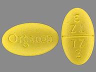 Remeron 15 mg oval