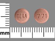 redondo de 10 mg de Pravastatin Sodium