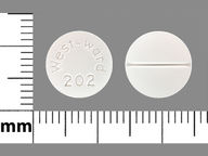 redondo de 25 mg de Cortisone Acetate