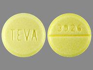 redondo de 10 mg de DiazePAM