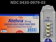 Atelvia 35 mg oval