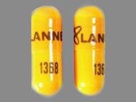 cápsula de 100 mg de Danazol