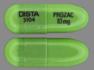 cápsula de 10 mg de PROzac