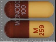 cápsula de monohydrate 100 mg de Monodox