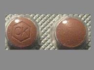 Angeliq 0.5 mg-1 mg round