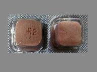 RisperDAL M-Tab 2 mg square