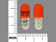 Theo-24 100 mg/24 hours capsule