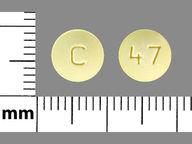 redondo de 10 mg de Olanzapine