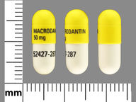 Macrodantin macrocrystals 100 mg capsule