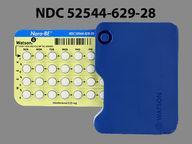 Nora-Be 0.35 mg round