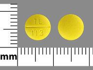 Prochlorperazine Maleate 10 mg round