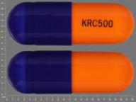 cápsula de 250 mg de Cefaclor