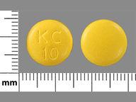 Klor-Con 10 mEq round