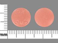 Atovaquone-Proguanil Hydrochloride 250 mg-100 mg round