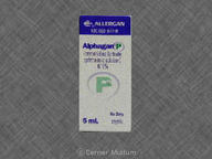 Alphagan P 5.0mL of 0.1% null
