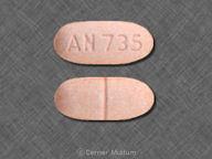 Felbamate 400 mg oval