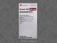 Flovent HFA CFC free 110 mcg/inh null