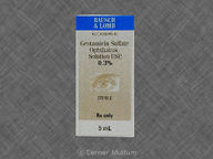 Gentamicin Sulfate, Ophthalmic 5.0mL of 0.3% null