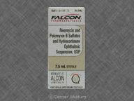 Hydrocortisone/Neomycin/Polymyxin B 7.5mL of 1%-0.35%-10000units/mL null