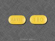 Paxil 10 mg oval