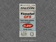 null de 5.0mL of maleate0.25% de Timolol Maleate, Ophthalmic