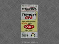 Timolol Maleate, Ophthalmic 5.0mL of maleate0.25% null