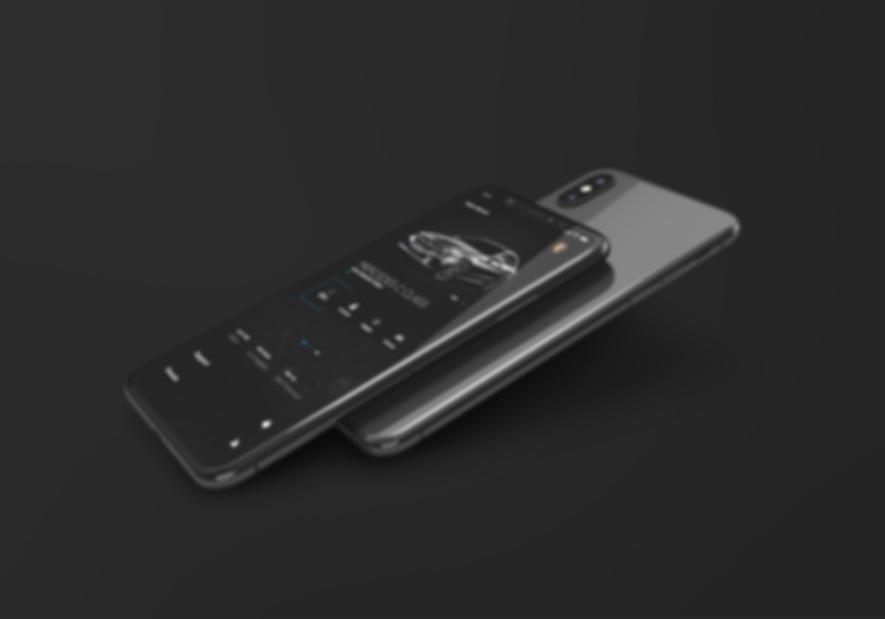 Grafika przedstawiająca dwa smartfony