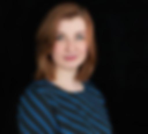 Zdjęcie na czarnym tle Moniki Śliwy