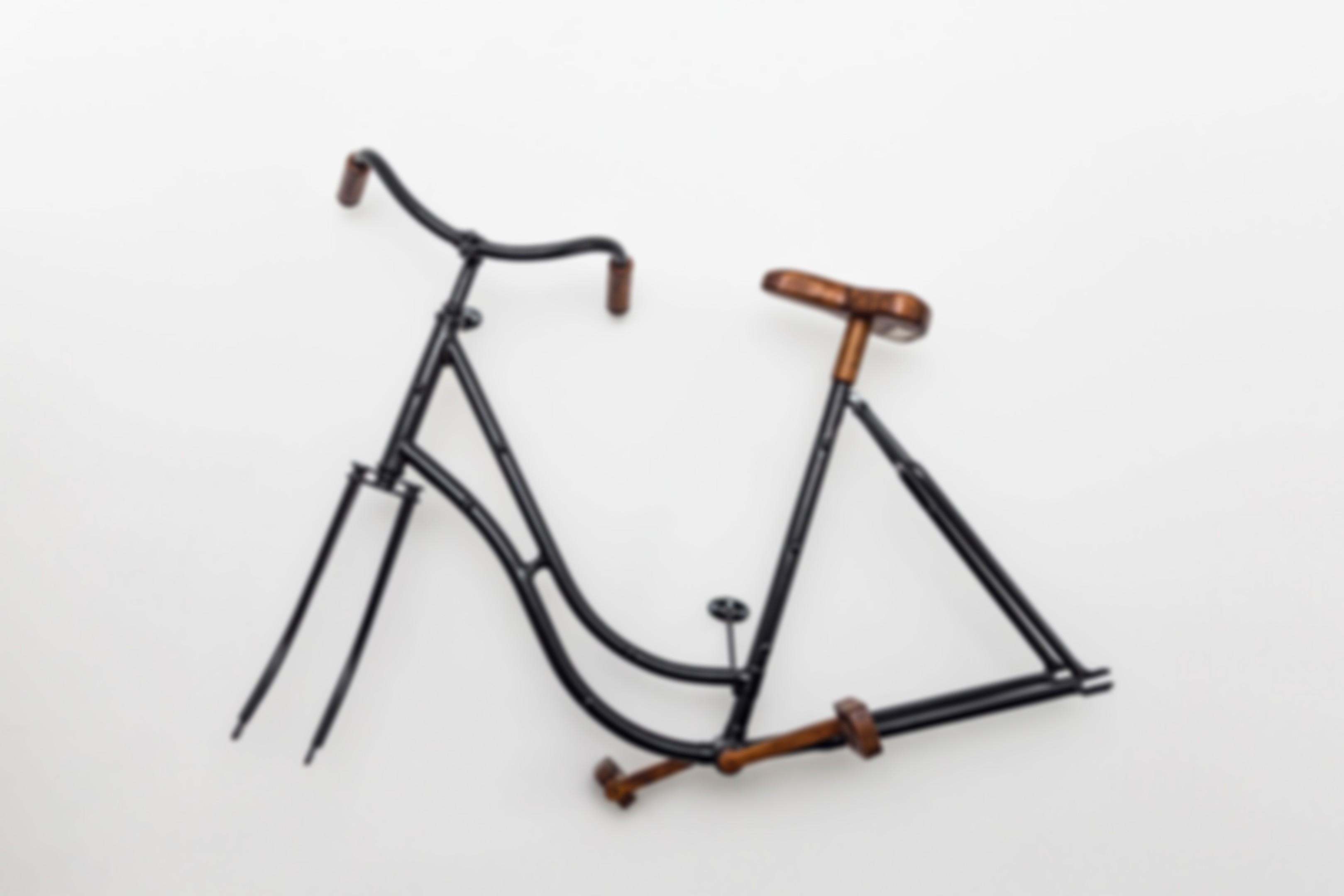 Zdjęcie przedstawiające ramę roweru.