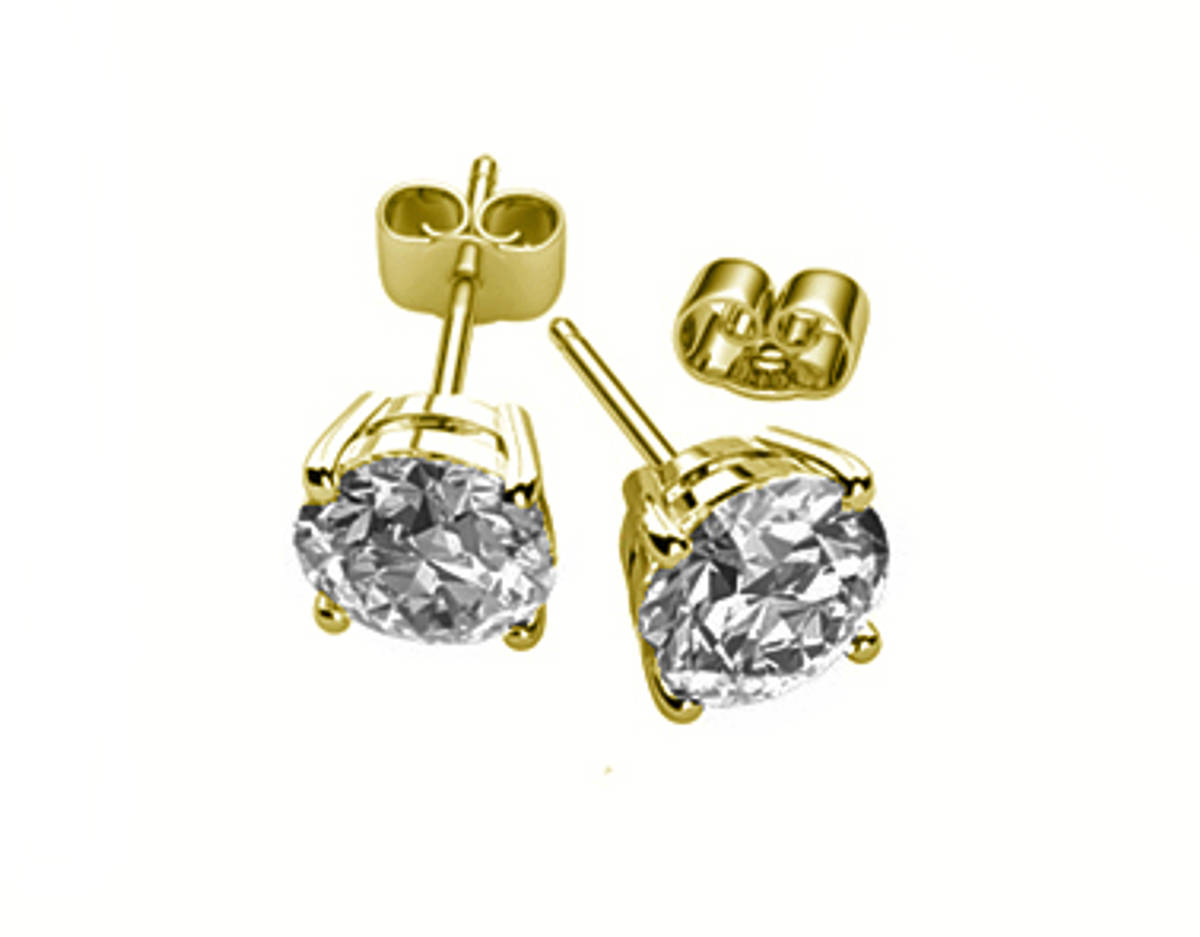 18k yellow gold brilliant cut diamond solitaire earringsDETAILSCarat: total diamond weight 0.40ctsMetal: 18k yellow gold Made in Ireland ADD TO BASKET SKU: DE2883Categories: Diamond Earrings, Diamond Jewellery