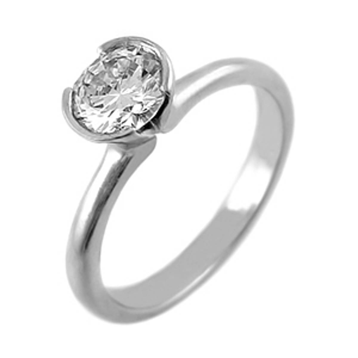 DR69202Single stone brilliant cut diamond ringPictured item: 0.70ct diamond set in platinumAvailable in: 18k gold or platinum