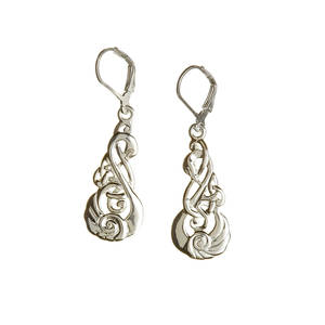 Silver Children Of Lir Earring Boxed