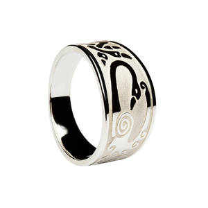 Silver Child Of Lir Ring Boxed