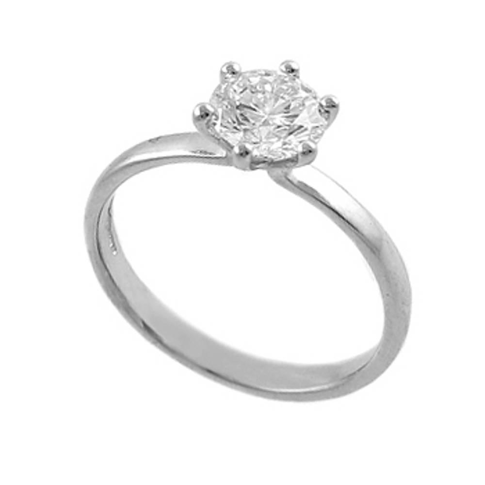 0.86 ct diamond engagement ring