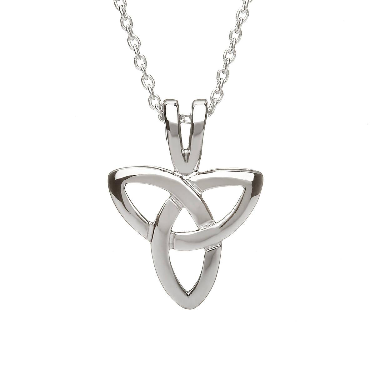 Silver Trinity Knot Pendant