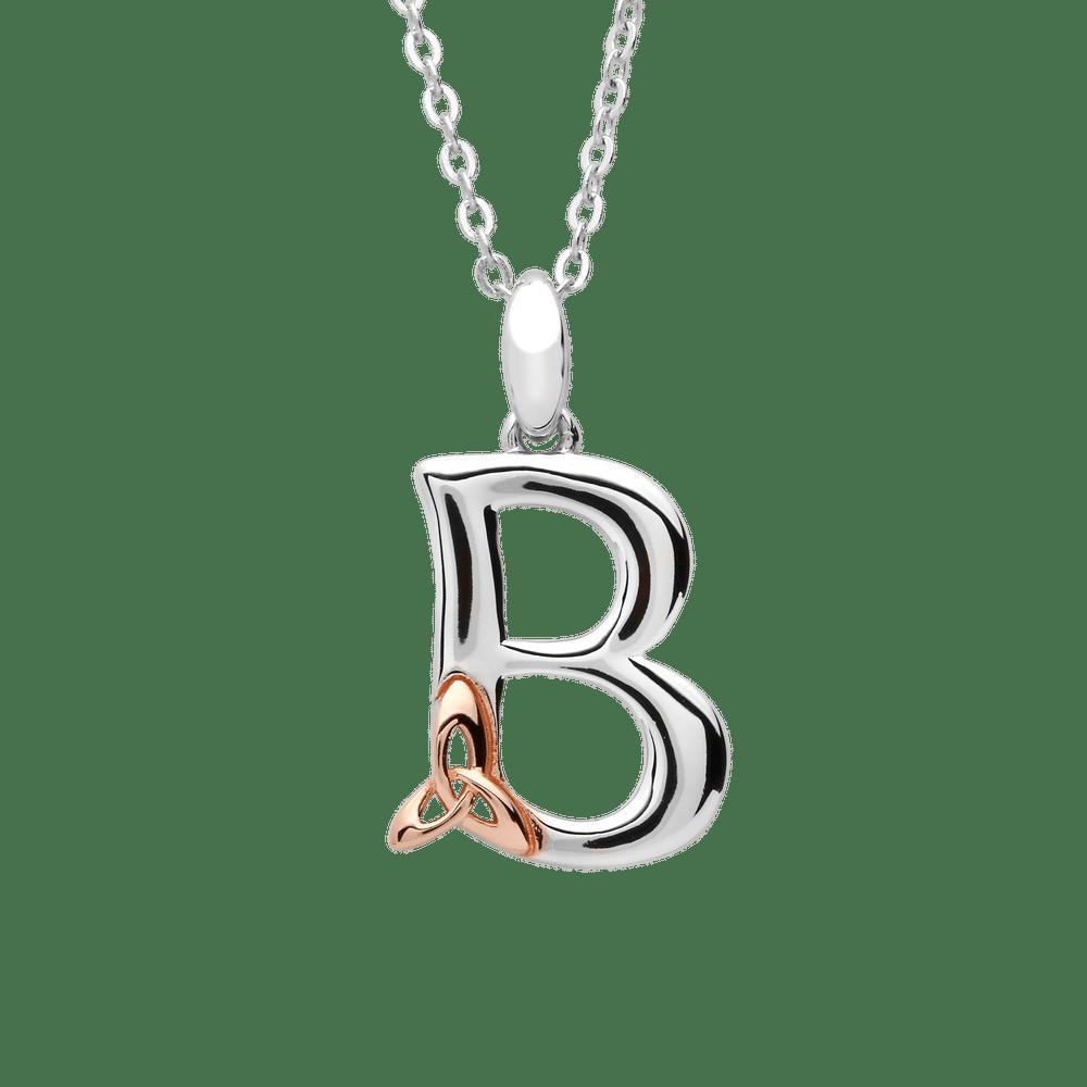 S/silver Celtic Initial B Pendant