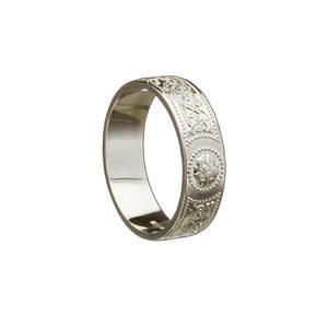 Palladium white man's Arda inspired ring