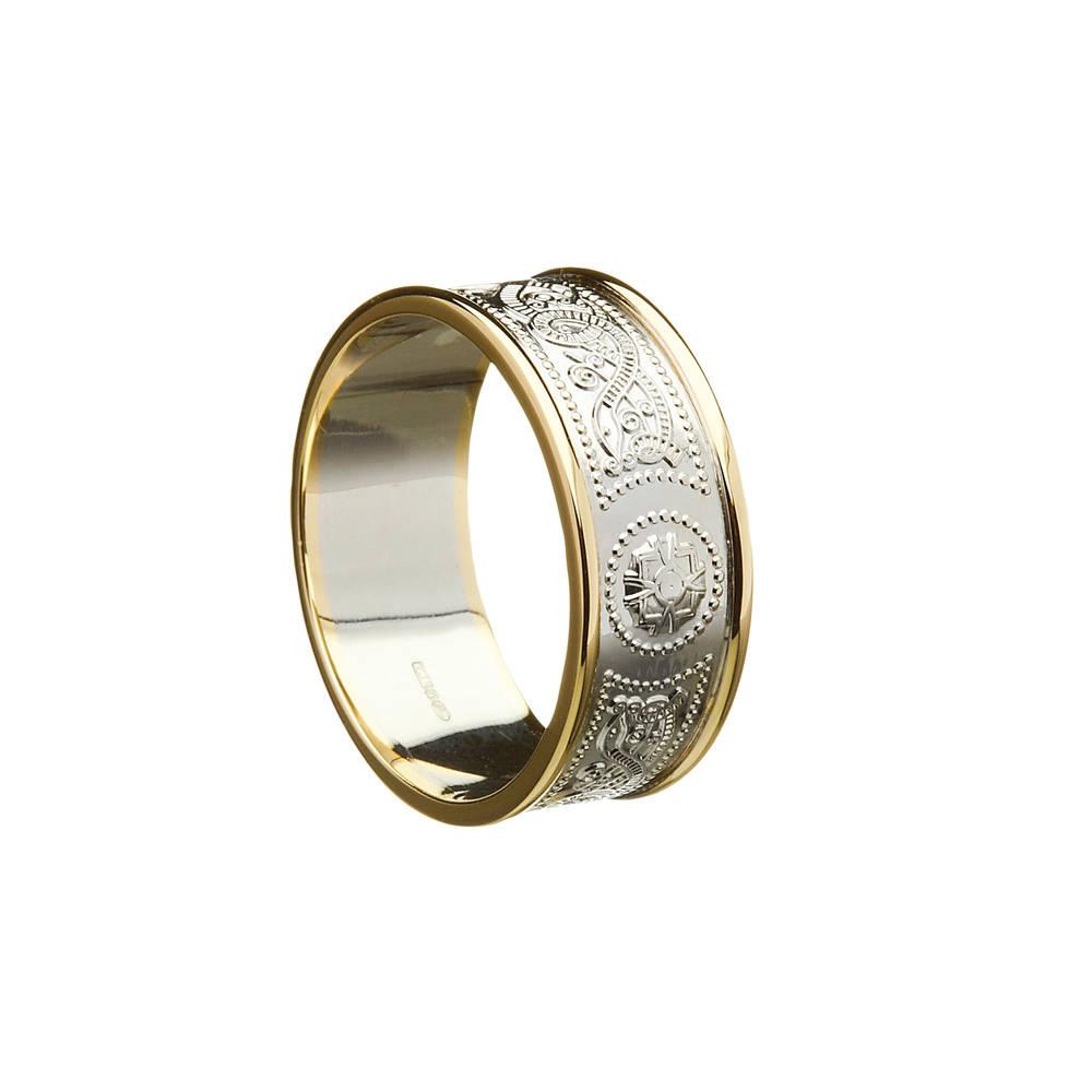 10 carat white gold man's Arda ring