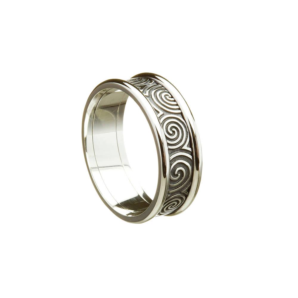10 carat white gold man's new grange ring