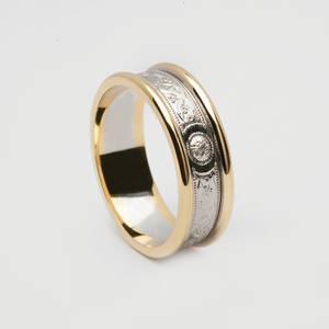 14 carat white gold Arda wedding ring