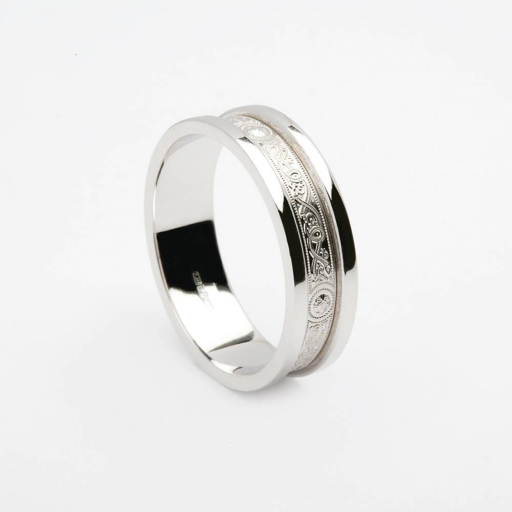 10 carat white gold Arda wedding ring