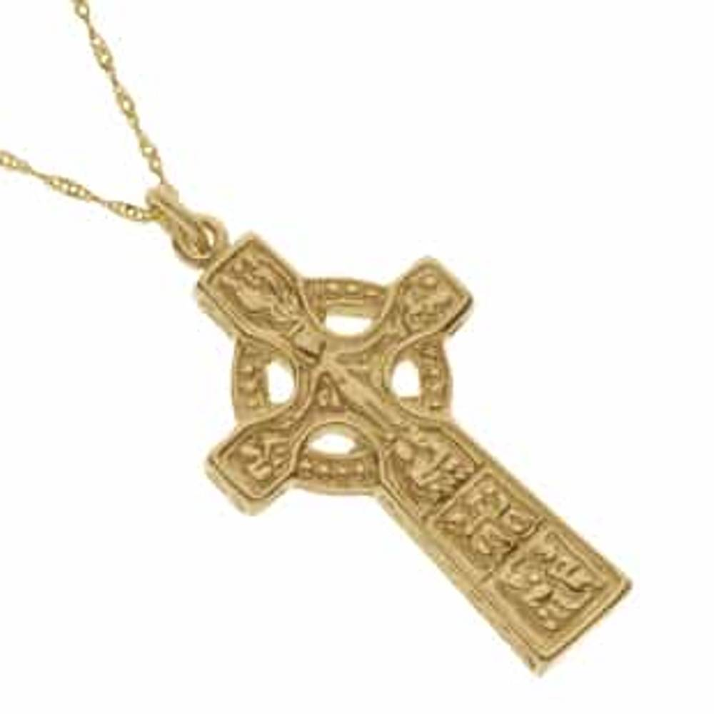 10 carat yellow gold Duleek cross